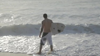 introducing JAKE HENRY on the beach