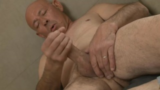 Tony Palo jerks his big juicy cock