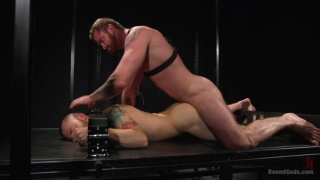 Scott Ambrose gets trained by master Sebastian Keys