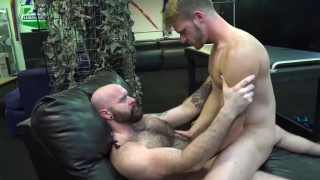 Breeding Slut Hole with luke harrington and brian bonds