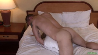 Tex Long dry humping his mattress