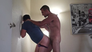 fresh out of the shower, Sandro fucks ass