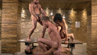 Damien Crosse's five-man Orgy