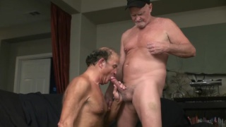 Older Men Masseur with frederick and angus