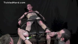 Branson gets tickled by two men