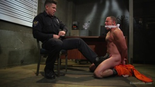 punk Max Cameron gets it from prison guard Trenton Ducati