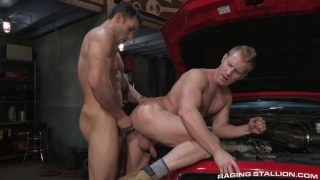 drive shaft Ricky Decker and Johnny V
