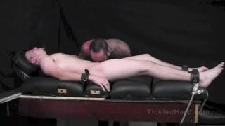 drew gets his size 12 feet tickled