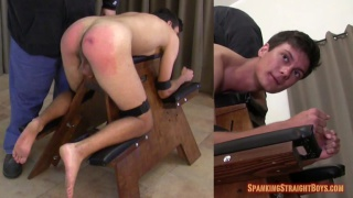 Ryan on the spanking Bench