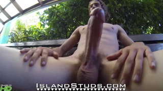 guy Milks his Monster In Hawaii!