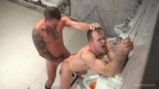 Greedy bathroom pig Connor Patricks services Max Cameron