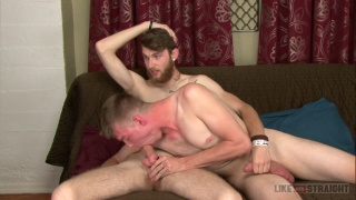 blond guy gets hammered by hung bearded dude