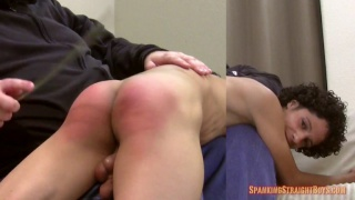 Martin's First Spanking