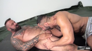 Marc Angelo gets bare fucked by Amir Badri