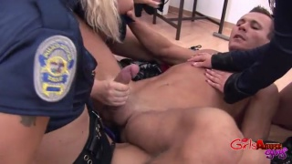 female prison guard gang bang male prisoner