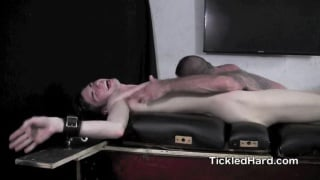 clayton gets his size 13 feet tickled