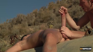 Wanking His Huge Cock To A Fountain Of Cum