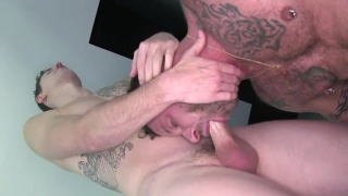 Ass Blasting with derek parker and jed athens