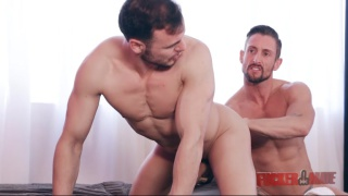 Nick North and Gabriel Vanderloo flip fuck