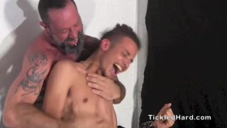 Fez gets double-team tickling action