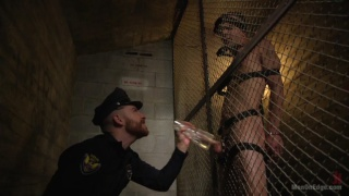 Max Woods gets edged by dirty cop