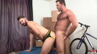 Anthony London fucks Conrad Logun
