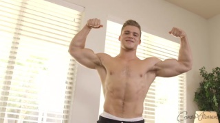 nash shows off his incredible body before jacking off