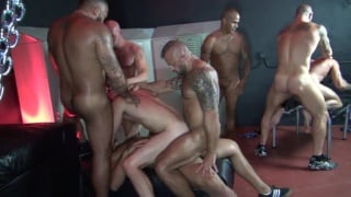 Big Sex Club Orgy Part 1 with alessio romero
