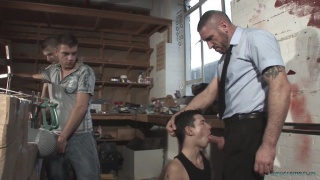 Sex in the Workshop with steve masters, Will Jamieson, Ricky Jackson