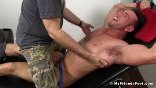 naked Alex mecum gets tickled