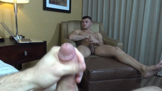 Robert earns cash playing with dick