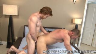 20yo Bryce talk, strip and jack off