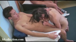 Amateur Young Orgy at Home