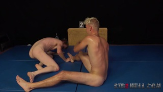 wrestling with Kristof Trnka and Karel Opec