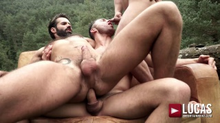 Uncut In The Great Outdoors with JAMES CASTLE & APOLO FIRE fucking DANI ROBLES