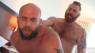 Zack Acland fucking Jax Hammer at Hot Older Male