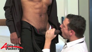 Leo Cage and Enzo Rimenez interracial romp