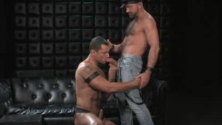 mercy of well-hung hairy stud