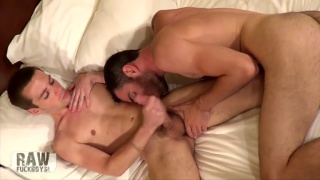 Brandon Atkins loves sucking cock and Joey loves getting head