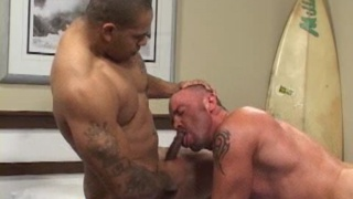 Raw muscle fuck