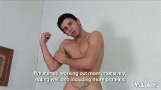Muscle Boy Self-Fuck