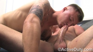 Tattooed Straight Guy Gets Fucked