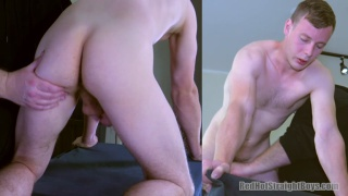 hung straight boy's First Gay Experience