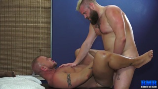 bear sex fourway with JD Daniels, Sillver Steele, Lion Reed and Daxton Ryker