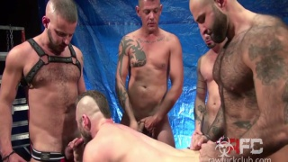 Aiden Hart Gang Bang (Part 1) with Jace Chambers & Atlas Grant