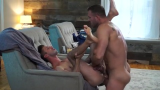 Rags To Riches with Austin Wolf fucking Ian Frost