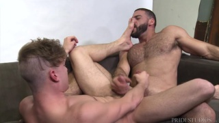 I'm Going To Fuck Your Feet with Ricky Larkin & Zander Lane