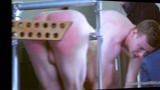 patrick gets his ass paddled at Spanking Straight Boys