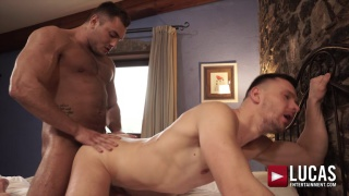 ALPHA HUNKS ANDREY VIC AND BROCK MAGNUS FLIP-FUCK