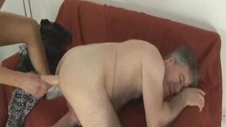 Sex with Daddy on Arrival